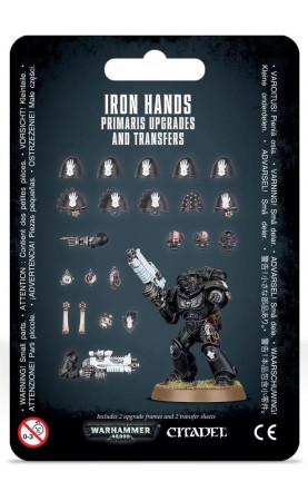 Améliorations et décalcomanies Iron Hands Primaris