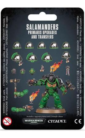 Améliorations et décalcomanies Salamanders Primaris -
