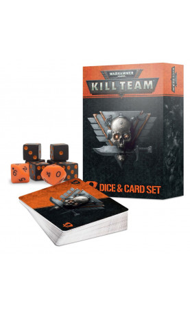 Kill Team Card and Dice Set (Anglais)