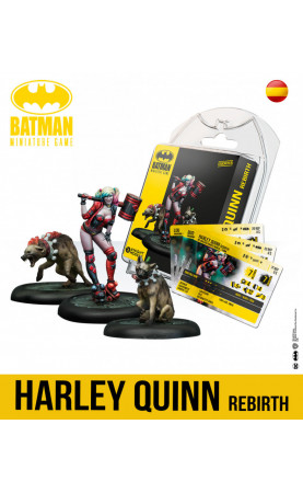Batman Miniature Game Harley Quinn Rebirth Spanish