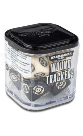 Warhammer 40,000 Wound Trackers [Beige]