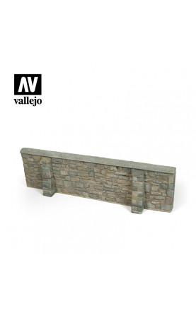 Ardennes Village Wall