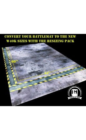 Battlemat W40K V9 resizing side bar pack