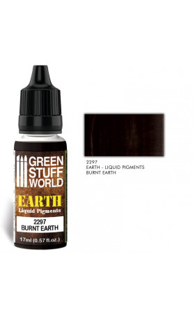 [2297] Pigments Liquides BURNT EARTH