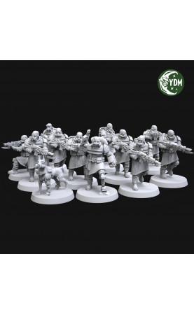 Squad of Empire's Dump-Dogs (11+1)
