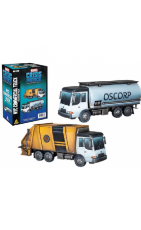 Marvel Crisis Protocol: NYC Commercial Truck Terrain Pack...