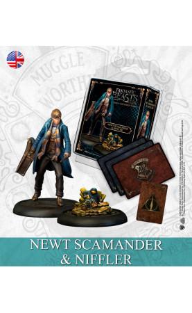 Harry Potter Miniature Game: Newton Scamander & Niffler