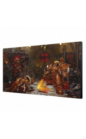 Emperor VS Horus Wood Panel - Warhammer 40K