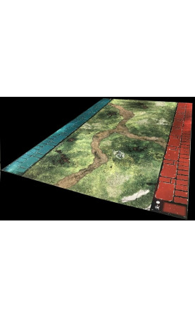 Pack Side Bars gaming Blue and Red star wars legion