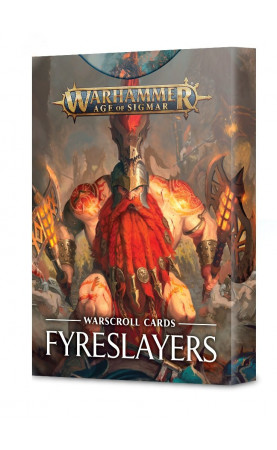 Fyreslayers - Warscroll Cards - FR