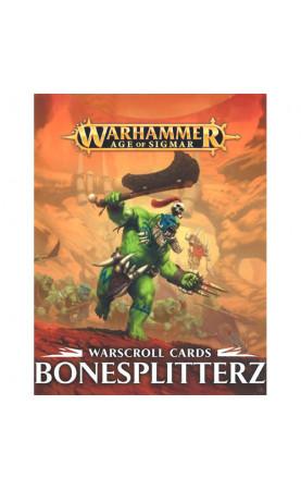 Bonesplitterz - Warscroll Cards - FR