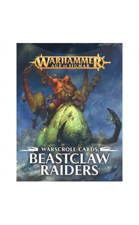 Beastclaw Raiders - Warscroll Cards - FR