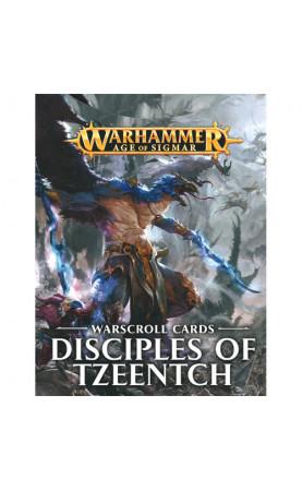 Disciples of Tzeentch - Warscroll Cards - FR