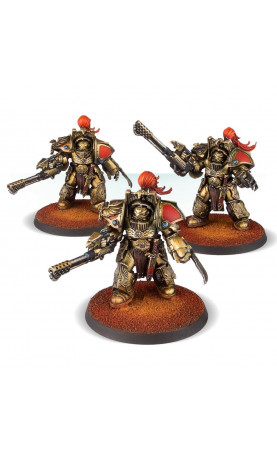Legio Custodes Aquilon Terminators with Infernus Firepikes