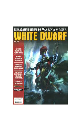 White Dwarf août 2019