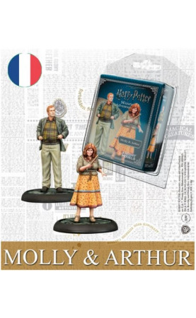 Harry Potter, Miniatures Adventure Game: Molly & Arthur...