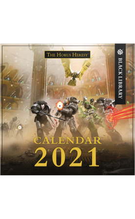 The Horus Heresy 2021 Calendar