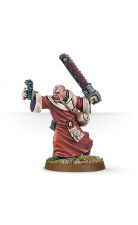 Prêcheur avec Épée-Tronçonneuse