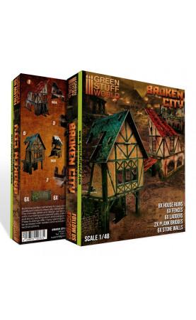 Ville en Ruine - Ensemble de Terrain