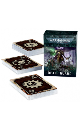 DATACARDS: DEATH GUARD...