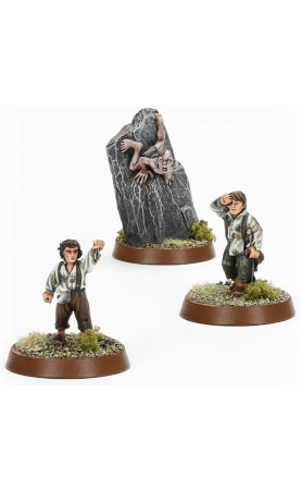 Frodo Baggins™, Samwise Gamgee™ & Gollum™