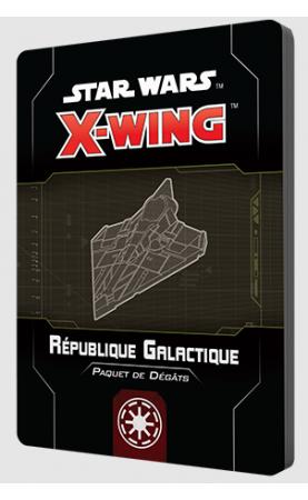 Star Wars X-Wing 2.0 : Paquet de dégâts République...