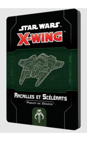 Star Wars X-Wing 2.0 : Paquet de dégâts Racailles et...