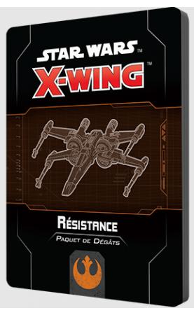 Star Wars X-Wing 2.0 : Paquet de dégâts Résistance