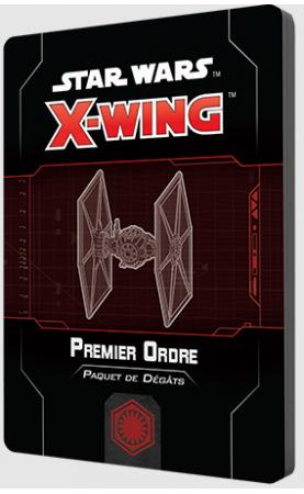 Star Wars X-Wing 2.0 : Paquet de dégâts Premier Ordre