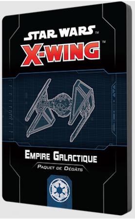 Star Wars X-Wing 2.0 : Paquet de dégâts Empire Galactique