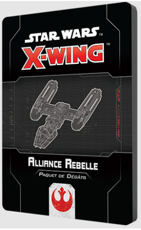 Star Wars X-Wing 2.0 : Paquet de dégâts Alliance Rebelle