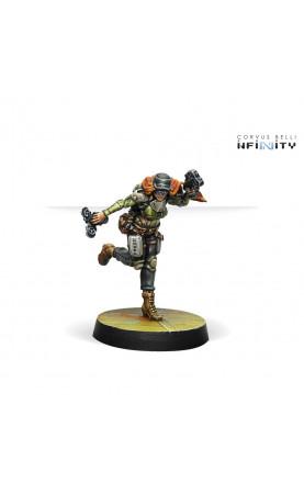 Mercenaries - Warcors, War Correspondents (Stun Pistol)