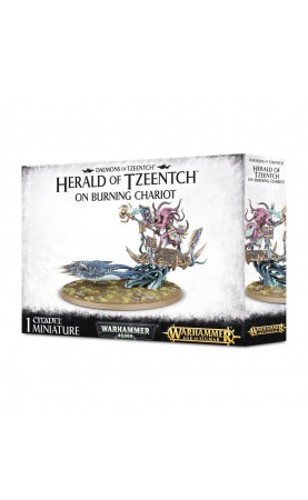 Herald of Tzeentch on Burning Chariot / Burning Chariot...
