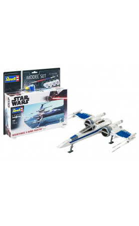 Star Wars - Resistance X-Wing Fighter blue (1:50) Model Set