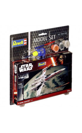 Star Wars - Resistance X-Wing Fighter red (1:57) Model Set