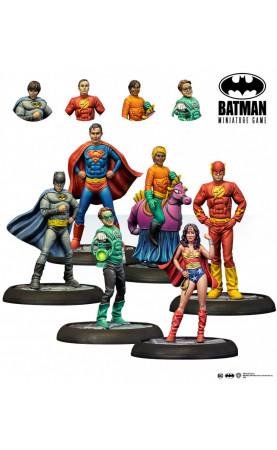 The Big Bang Theory Justice League Cosplay - Batman...