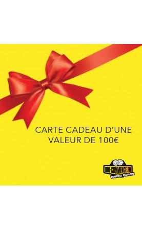 Carte Cadeau d'une valeur de 100 €