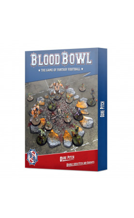 Blood Bowl Ogre Pitch: Double-sided Pitch and Dugouts...