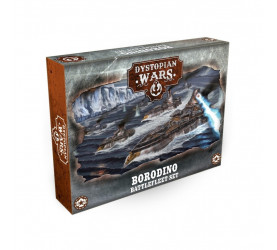 Dystopian Wars: Borodino Battlefleet Set