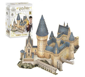 Hogwarts Great Hall - Puzzle Harry Potter 3D