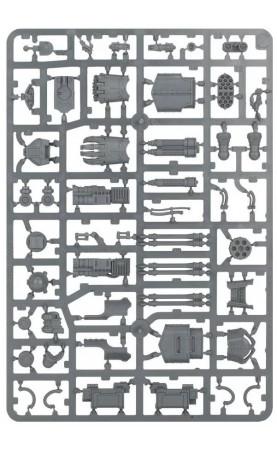 Armes de Titan Reaver: Éclateur gatling, poing...