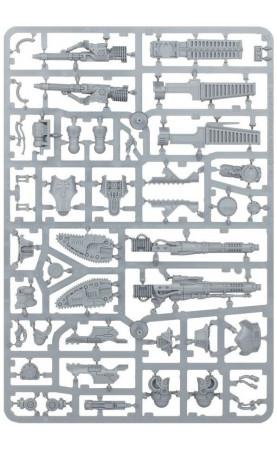 Armes de Titan Reaver: Canon à fusion, poing tronçonneur,...