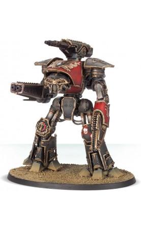 Reaver Battle Titan avec canon à fusion et poing tronçonneur