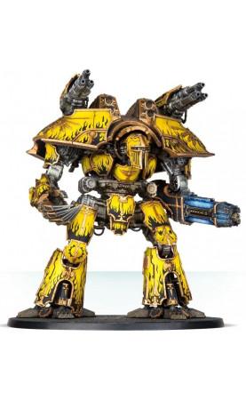 Warlord Battle Titan avec annihilateur à plasma et...