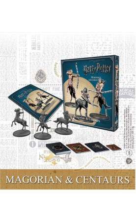 Harry Potter Miniatures Adventure Game Magorian & Centaurs