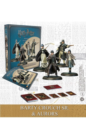 Harry Potter Miniatures Adventure Game Barty Crouch Sr. &...
