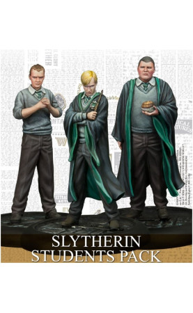 Harry Potter Miniatures Adventure Game Slytherin Students...
